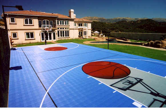 Another financial goal my very own full court basketball for How much to build a basketball court